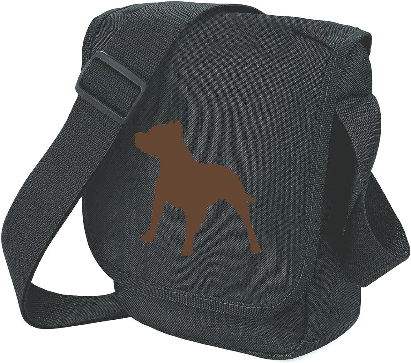 Staffordshire Bull Terrier Bag Mini Reporter Staffie Shoulder Bag Staffy Gift Choice of Colours