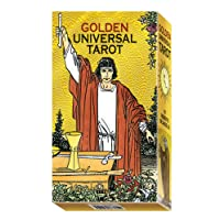 Golden Universal Tarot: 78 full Colour Tarot Cards with Gold Foil Impressions