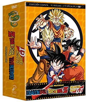 Dragon Ball Dragon Ball Z Las Películas Colección Completa DVD ...