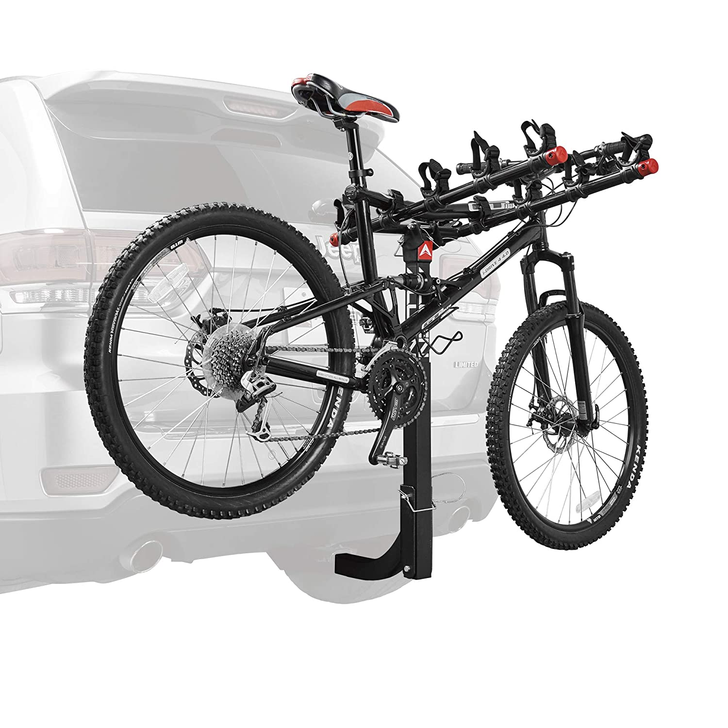 27ab0073d40 Amazon.com : Allen Sports Deluxe 5-Bike Hitch Mount Rack with 2-Inch  Receiver : Automotive