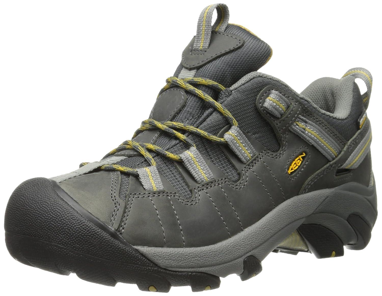 Keen Targhee II Damen Schuh Trekkingschuh Outdoor Wanderschuh Hiking Freizeit Leder, Schuhgröße:35.5;Farbe:Grau