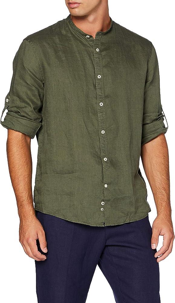Celio Natamao2 Camisa, Verde (Kaki Kaki), Small para Hombre: Amazon.es: Ropa y accesorios