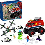LEGO Marvel Spider-Man: Spider-Man's Monster Truck vs. Mysterio 76174; Cool, Collectible Birthday Gift for Kids, New 2021 (43