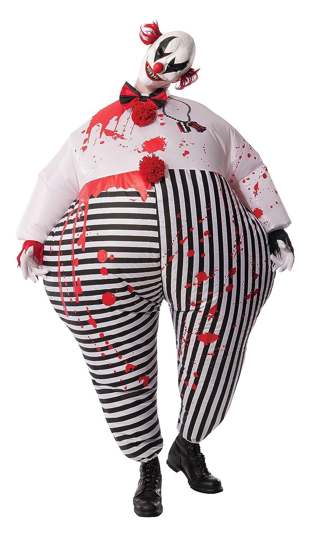 Rubie\u0027s Inflatable Evil Clown Costume Scary Creepy Halloween 810509