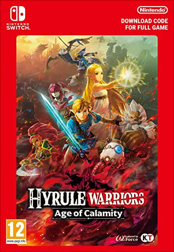 Hyrule Warriors Age Of Calamity Standard Nintendo Switch Download Code Amazon Co Uk Pc Video Games