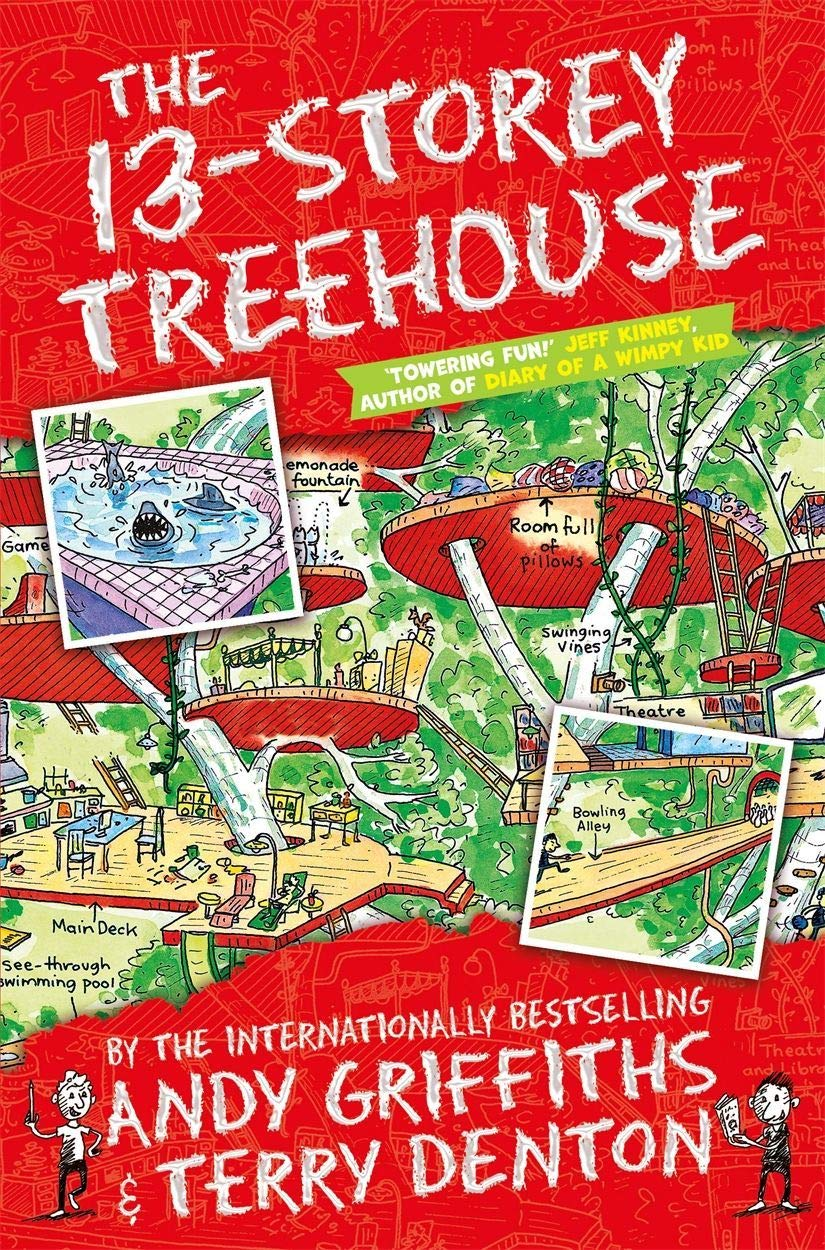 The 13-Storey Treehouse (The Treehouse Books) (The Treehouse Series):  Amazon.co.uk: Andy Griffiths, Terry Denton: 9781447279785: Books