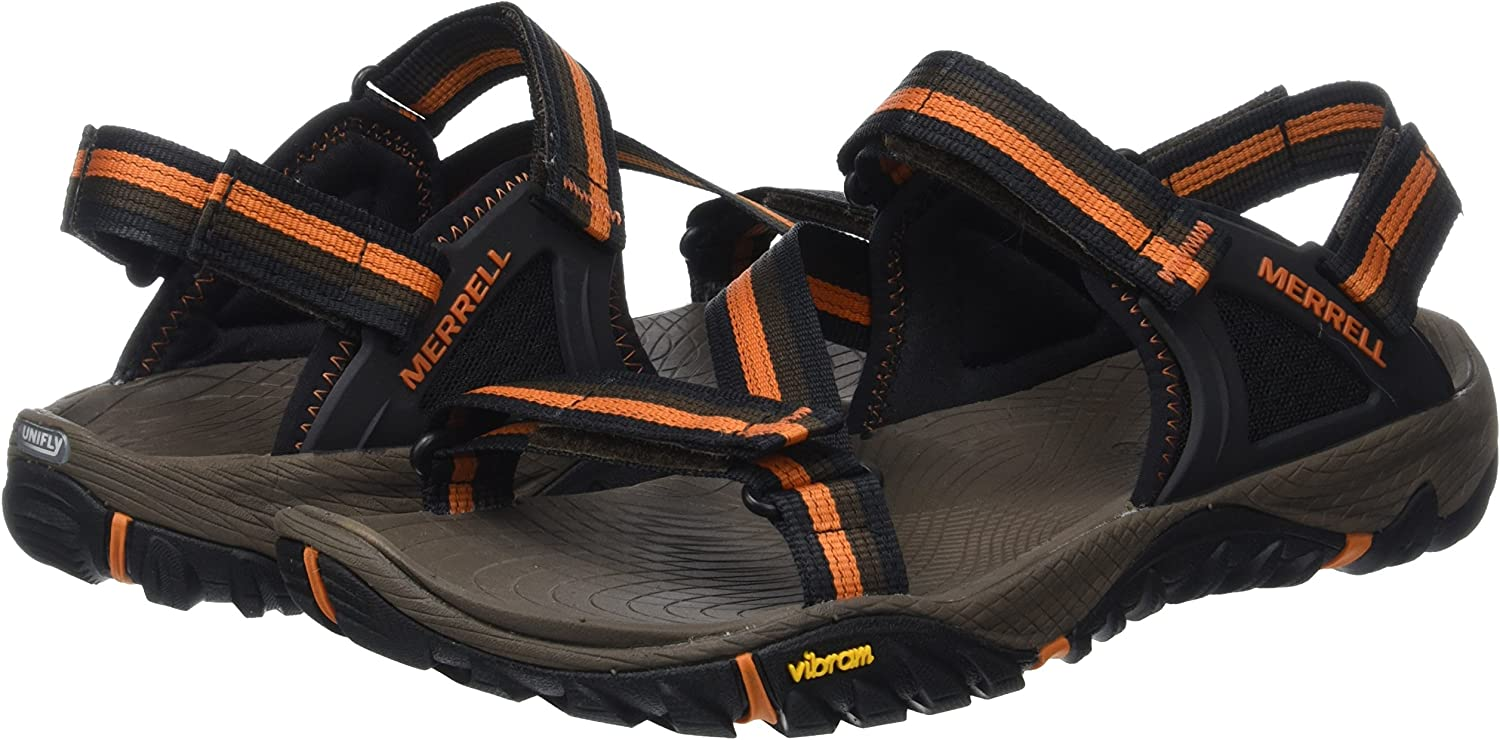 Merrell Mens All Out Blaze Web Athletic Sandals