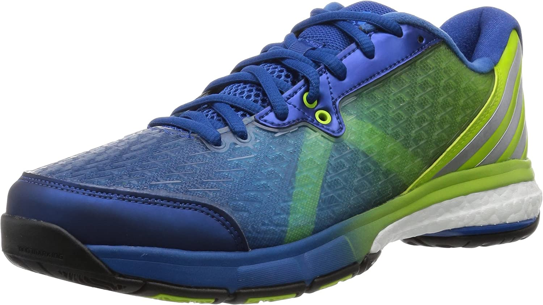 adidas Performance ENERGY VOLLEY BOOST Scarpe da Volleyball Blu Verde per Uomo
