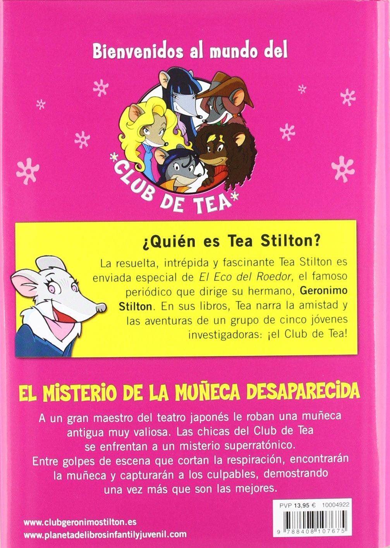 El misterio de la muñeca desaparecida: Tea Stilton 10: Tea Stilton: 9788408107675: Amazon.com: Books
