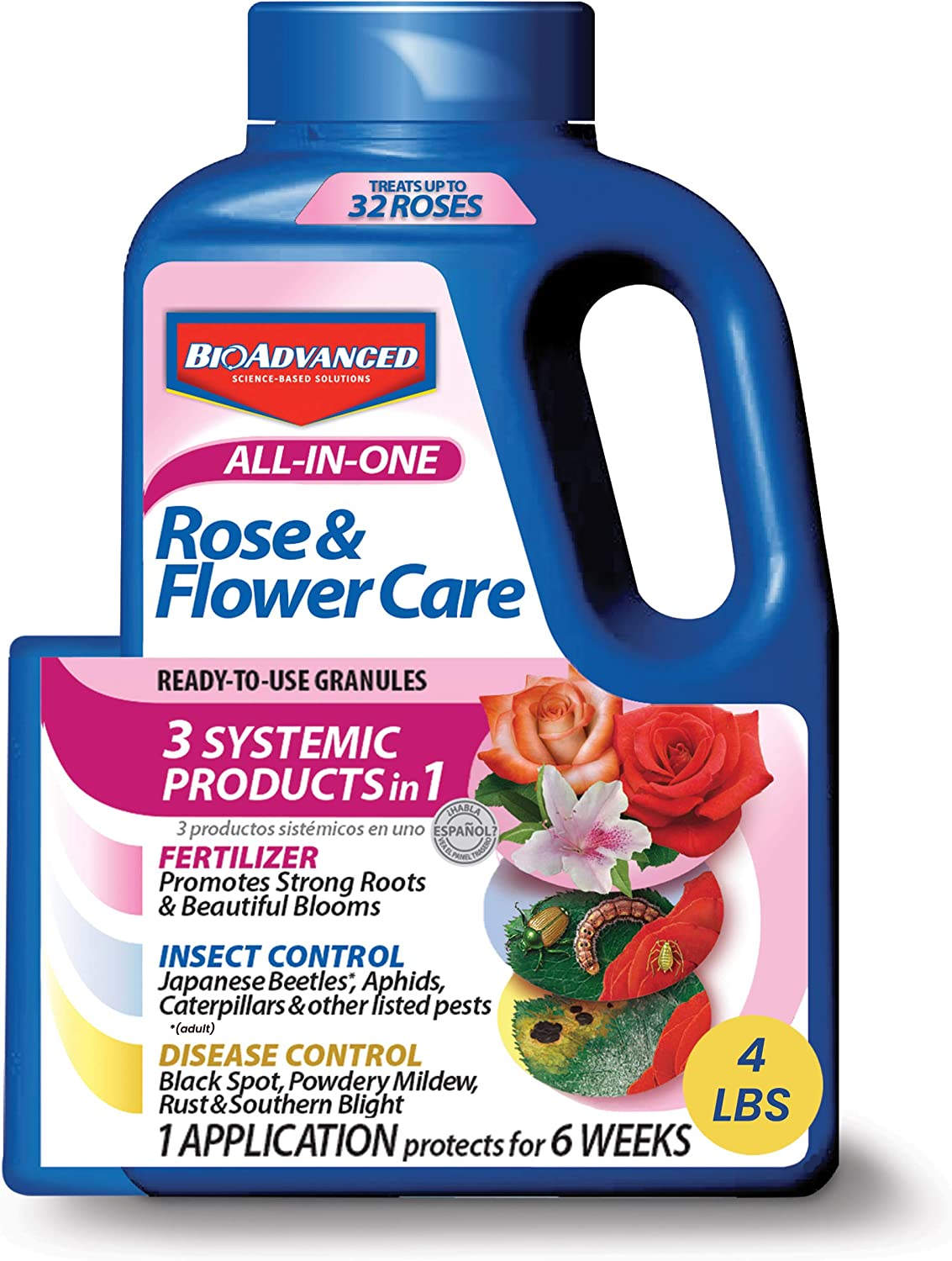 Best Granules - Bayer Advanced Fertilizer All in One Rose and Flower Care Granules For Roses