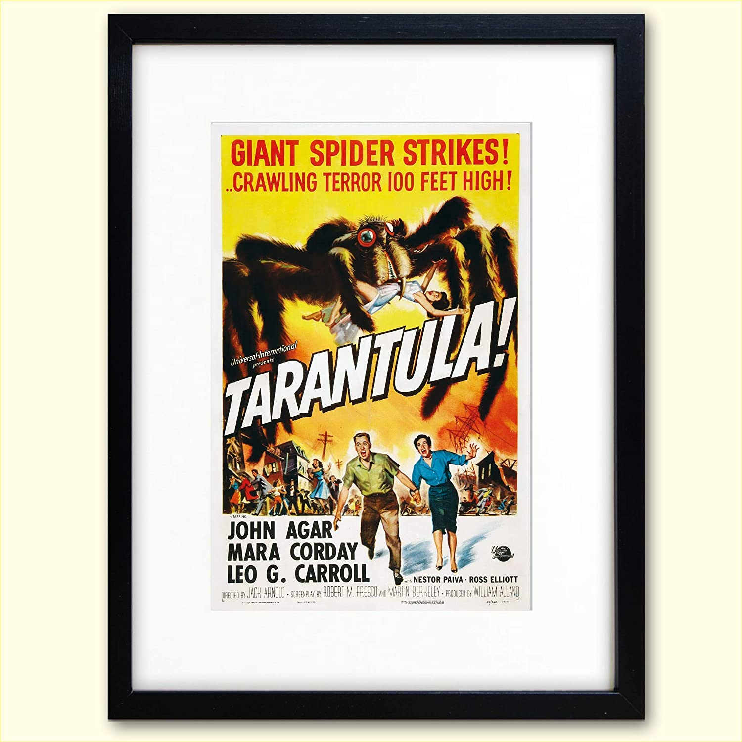 B Movie poster print collection 6 luxury prints