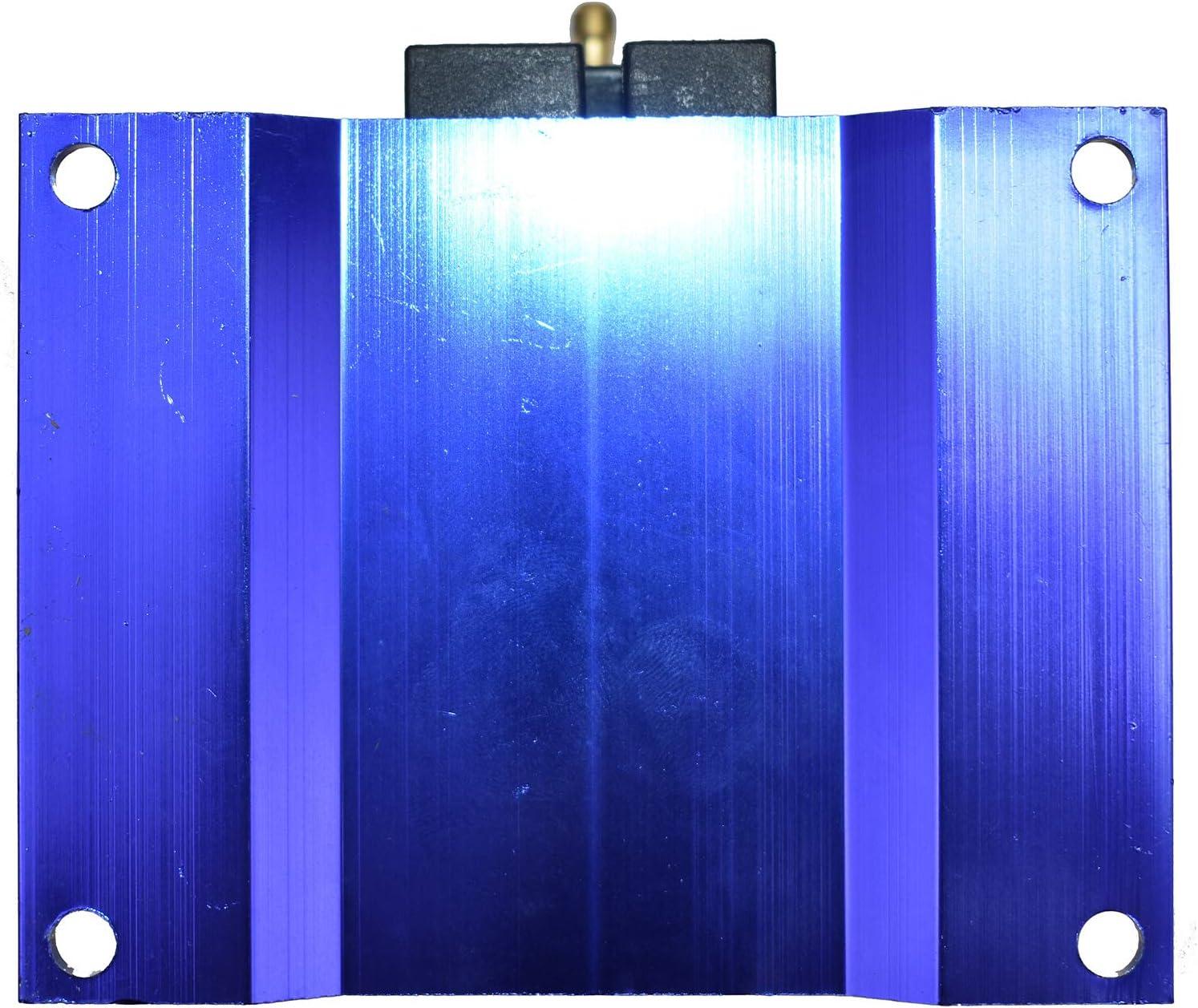 A-Team Performance E-Core Ignition Coil Remote Billet Aluminum Male E-Coil 50,000 Volts Black
