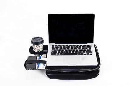 TaboLap Laptop Lap Desk Computer Bag   2 Built Into 1 With Mouse Pad, Cup
