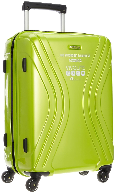 [アメリカンツーリスター] スーツケース ヴィヴォライト スピナー62 56L 3.2kg 保証付 B00JIKJDM4ライムグリーン
