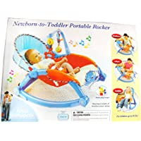 Portable Foldable Rocker and Crib For Newborns And Toddlers