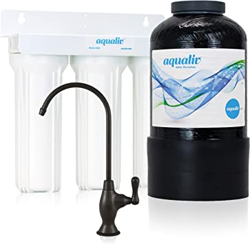 aqualiv agua sistema A305 – Ionizador de agua alcalina PH, máquina ...