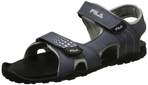 da1eac4df Fila Men s Willey Slate and Grey Sandals-10 UK India (44 EU ...