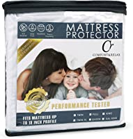 Comfort & Relax Mattress Protector - 100% Waterproof - Hypoallergenic - Up to 18 Inches - Full