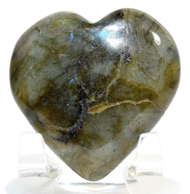 Amazon.com: Mineral de cristal brillante de fieldspar ...