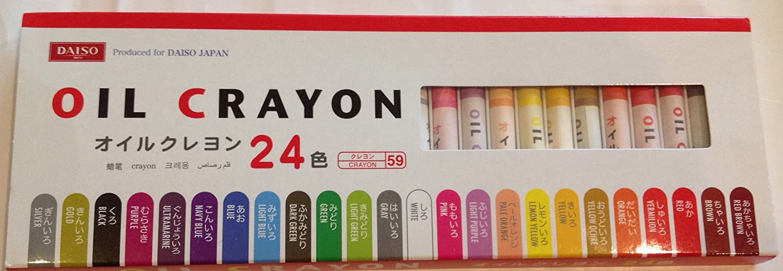 OIL CRAYON オイルクレヨン24色   B00BL9JWWG