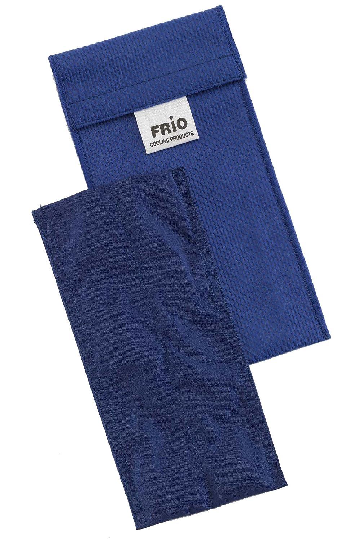 Frio Doppel Kü hltasche fü r Insulin, 8 x 18 cm, blau FIWDPB