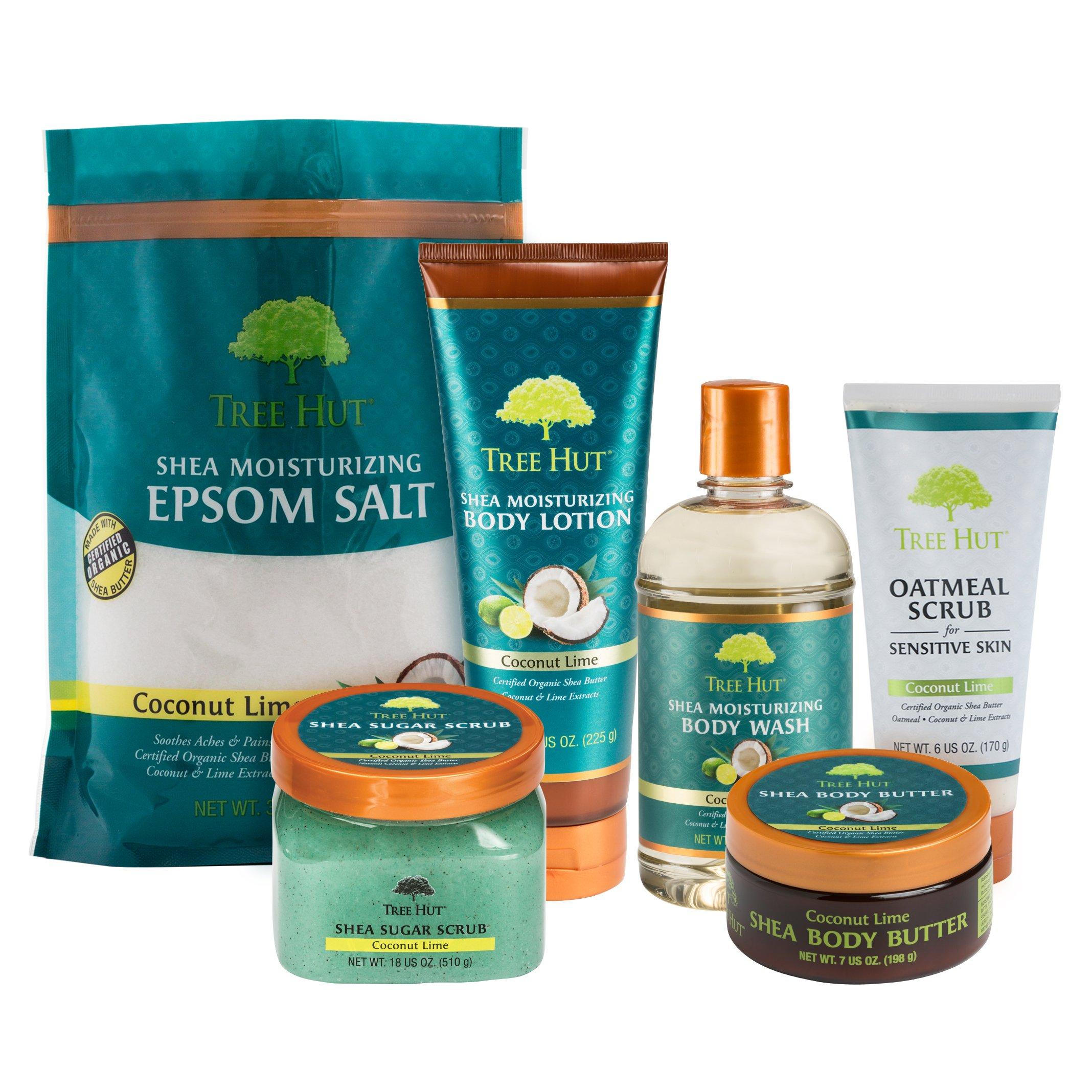 Tree Hut Shea Moisturizing Epsom Salt, Coconut
