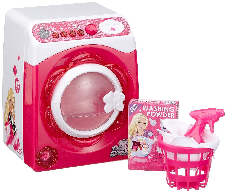 Lexibook Barbie lavadora, color rosa / blanco: Amazon.es: Juguetes ...
