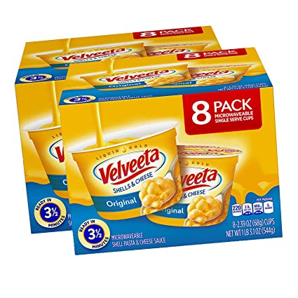 Velveeta Original Shells and Cheese - Vajilla para ...