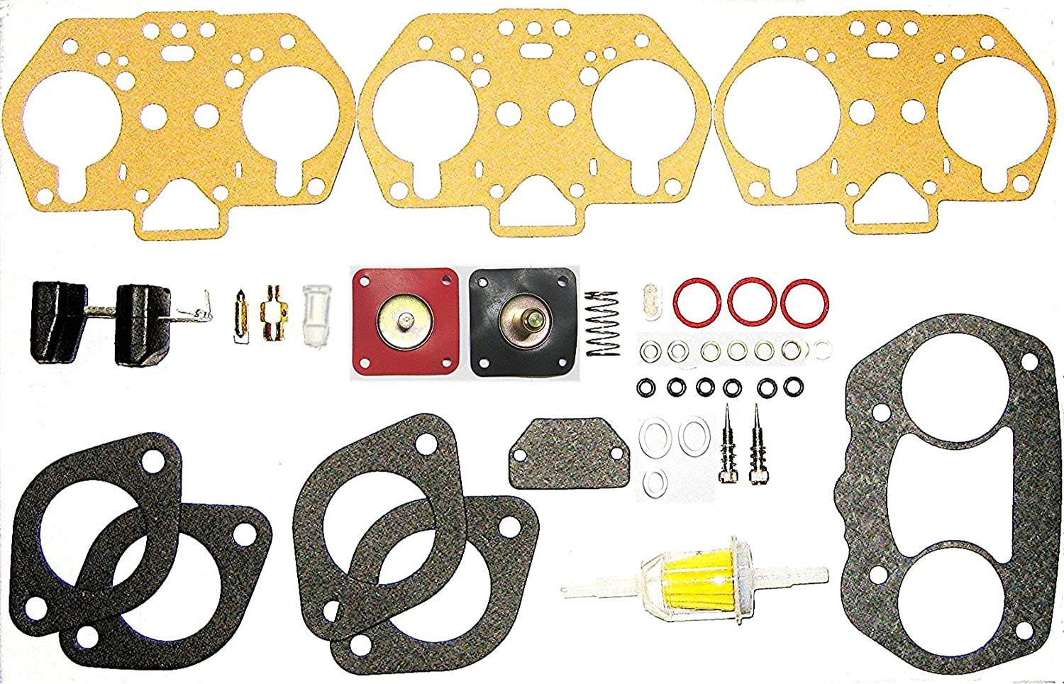 WEBER IDF MASTER REBUILD KIT WITH FLOATS BY RADKE FOR 40, 44, & 48 IDF CARB, EACH