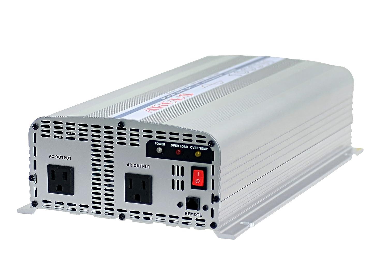 DC24V⇒AC100V900W(60Hz)正弦波インバーターAS1000-24V(argus) B00SUREYBQ  - -