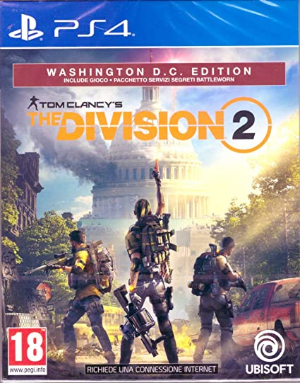 PS4 - The Division 2 - Washington D.C. Edition - [PAL ITA]: Amazon ...