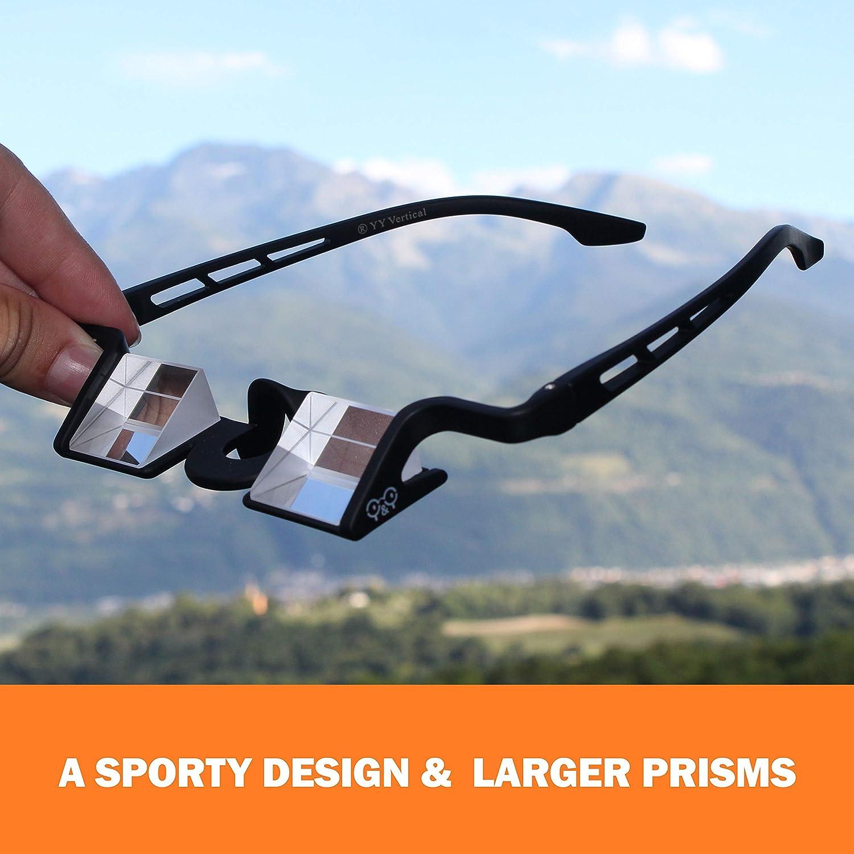 YY Vertical - Gafas con prisma para hacer segura al compañero de escalada Plasfun Evo - Black