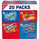 Nabisco Classic Mix Variety Pack, OREO Mini, CHIPS AHOY! Mini, Nutter Butter Bites, RITZ Bits Cheese, 20 - 1 oz Snack Packs (