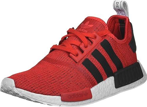 adidas Unisex Erwachsene Schuhe Sneaker NMD_R1 rot 48