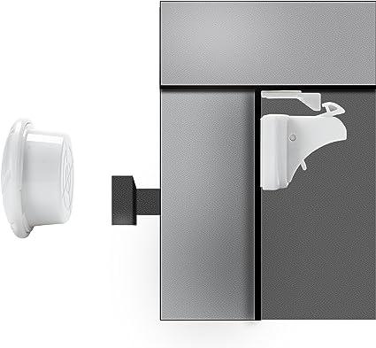 2 x Clé pour magnétique sécurité enfant invisible-Armoire de sauvegarde