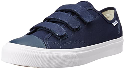 a3efb0d0cd Vans Unisex Prison Issue (Canvas) Dress Blues and True White Sneakers - 11  UK