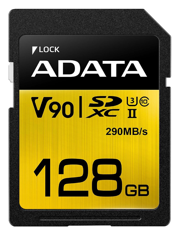 ADATA Premier ONE V90 128GB SDXC UHS-II Classe 10 memoria flash 5-6gg Lavorativi (da Ordinare)