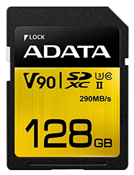 ADATA Premier One V90 Memoria Flash 128 GB SDXC Clase 10 UHS ...
