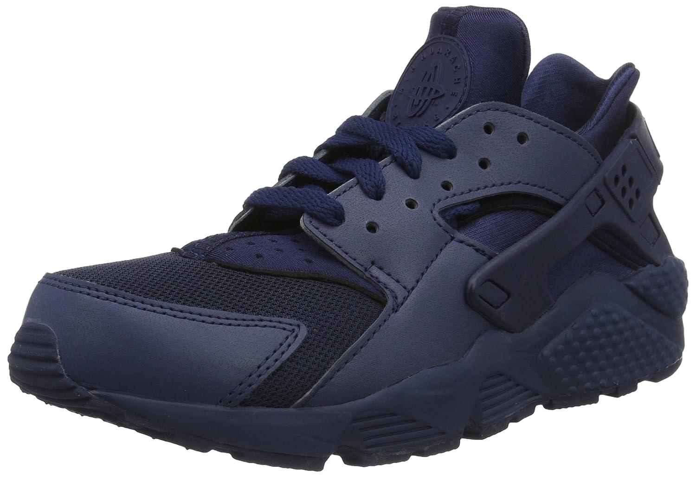 Nike Air Huarache, Zapatillas de Gimnasia Hombre 42 EU|Azul (Midnight Navy/Mid Navy-mid Nvy)