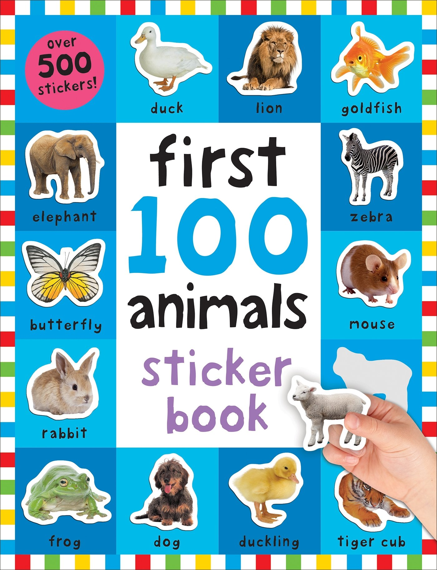 Image for First 100 Stickers: Animals: Over 500 Stickers