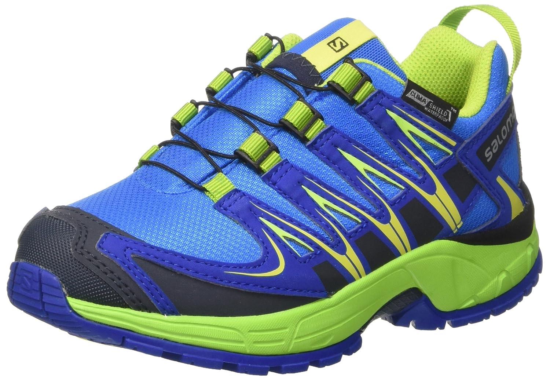 Salomon Unisex-Kinder XA Pro 3D CSWP J Trailrunning-Schuhe, Synthetik/Textil