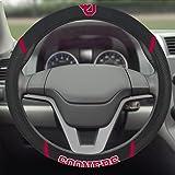 FANMATS  14921  NCAA University of Oklahoma Sooners Polyester Steering Wheel Cover