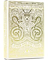 Playing Cards - Joker and the Thief: White Gold Edition Custom Designed Deck