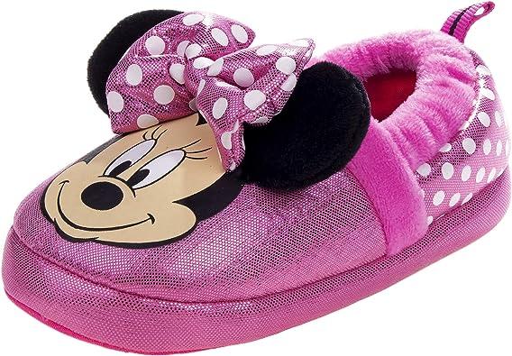 Josmo Kids Womens Minnie Slipper