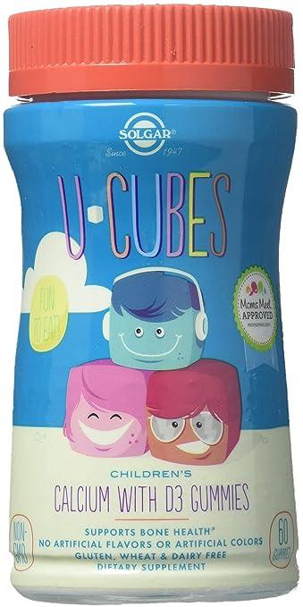 Amazon.com  Solgar, U-Cubes Calcium with D3 Gummies, 60 Count ... 1f25871ae380