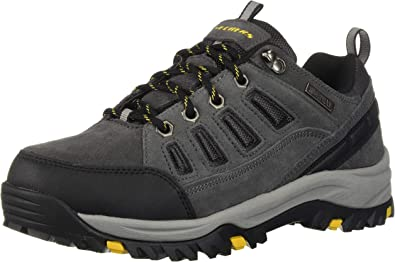 RELMENT Hiking Boot, Grey, 7.5 Wide