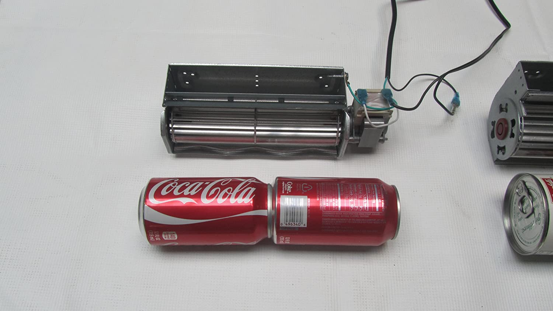 amazon com fireplace blower kit with power cord u0026 temp sensor