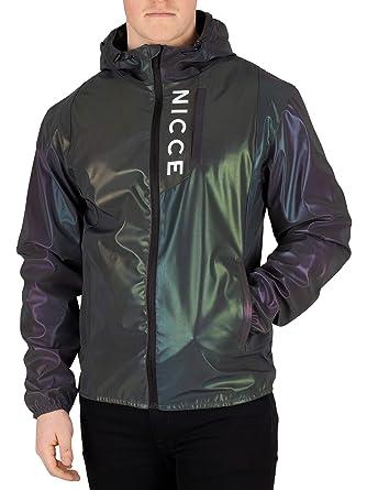 NICCE London Mens Vind Jacket, Multicoloured at Amazon ...