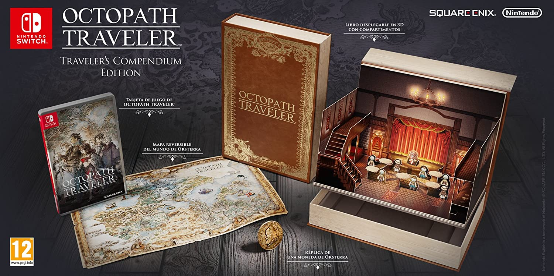 Octopath Traveler - Edición Travelers Compendium: Amazon.es: Videojuegos