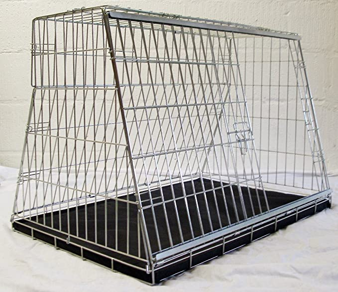 Arrow NISSAN PATHFINDER 05-12 CAR DOG CAGE SLOPED FRONT GUARD PUPPY CRATE CARRIER